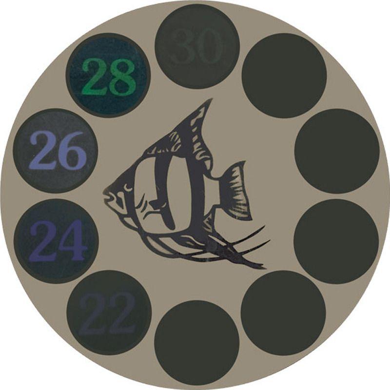 Термометр для аквариума Laguna LCD, черный,