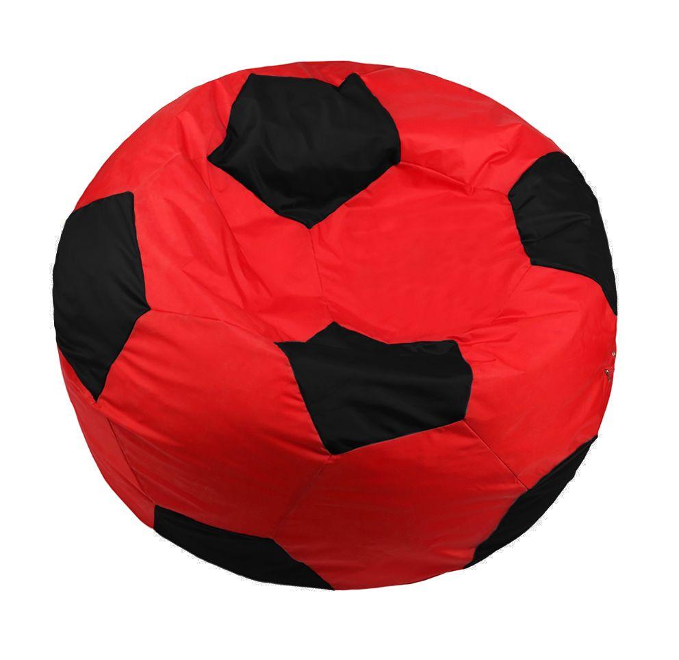 Кресло-мяч Pazitif Мяч Пазитифчик, размер XL, оксфорд, красно-черный фото