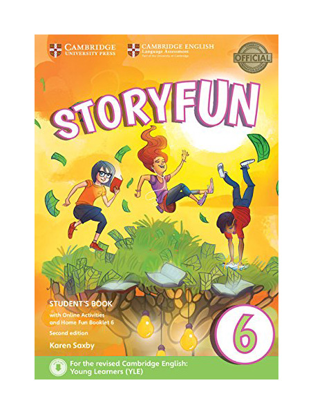 Storyfun 6 Student\'S Book With Online Activities And Home Fun Booklet 6