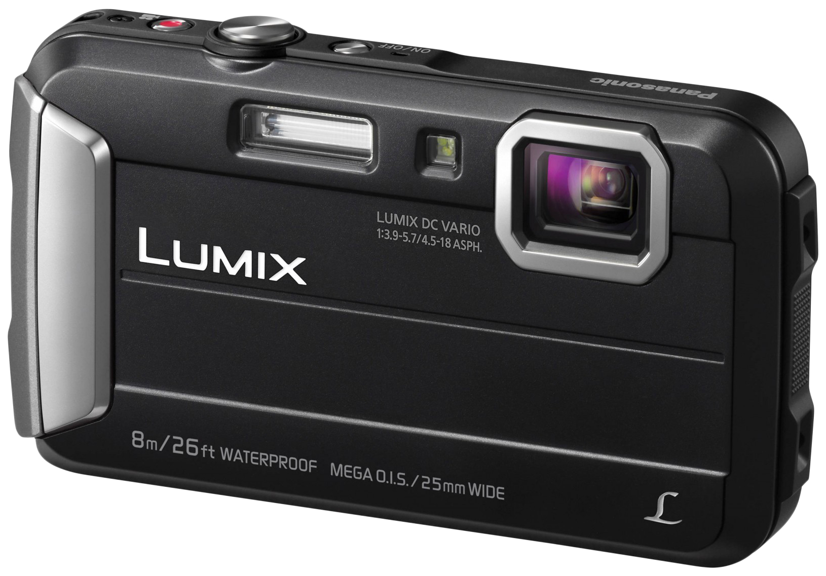 Фотоаппарат цифровой компактный Panasonic Lumix DMC-FT30 Black