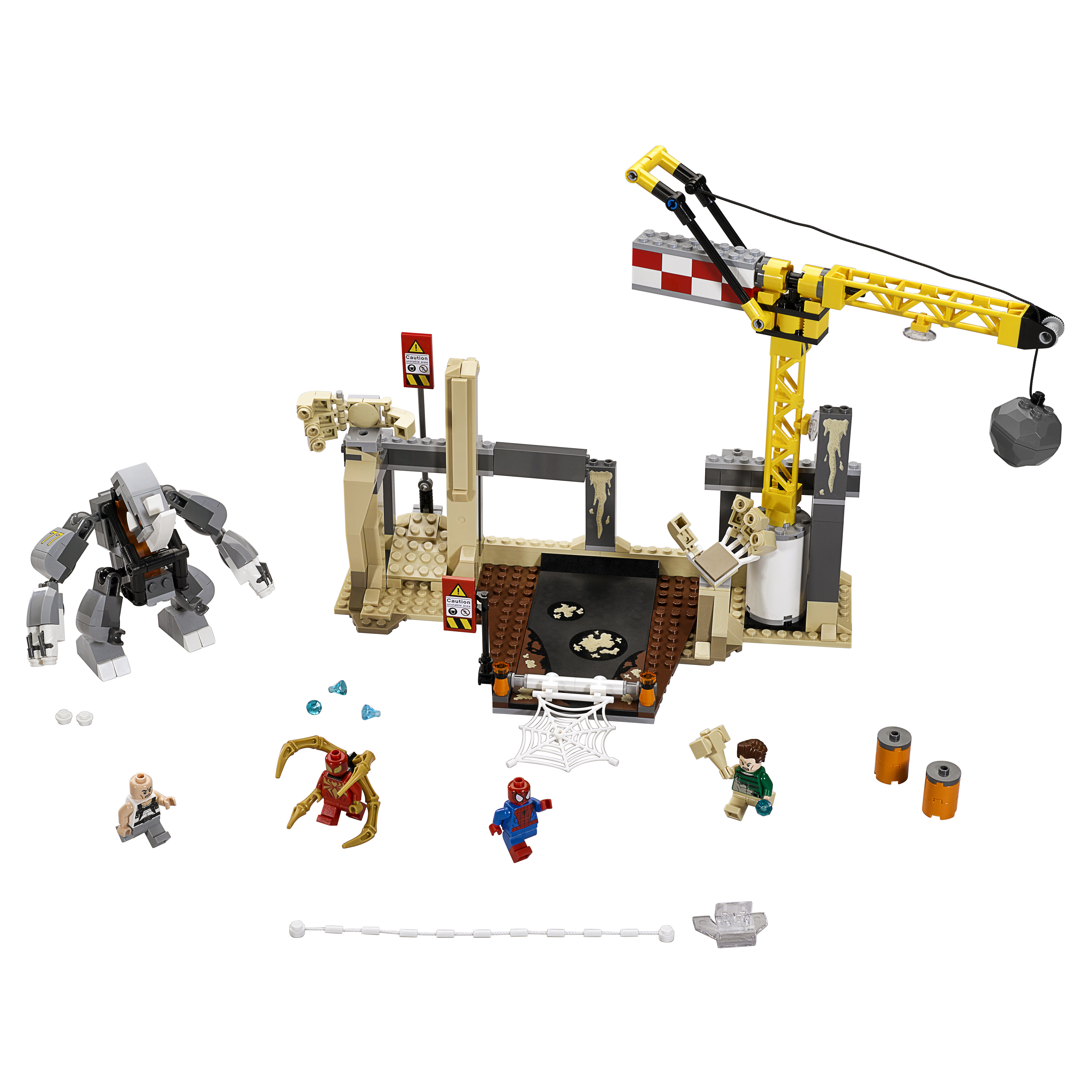 Конструктор LEGO Super Heroes Носорог и Песочный