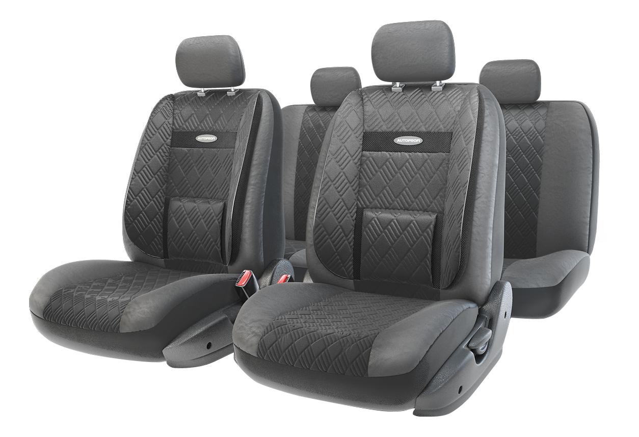 Комплект чехлов на сиденья Autoprofi Comfort 3D COM-1105GP BK/BK (M), Comfort 3D
