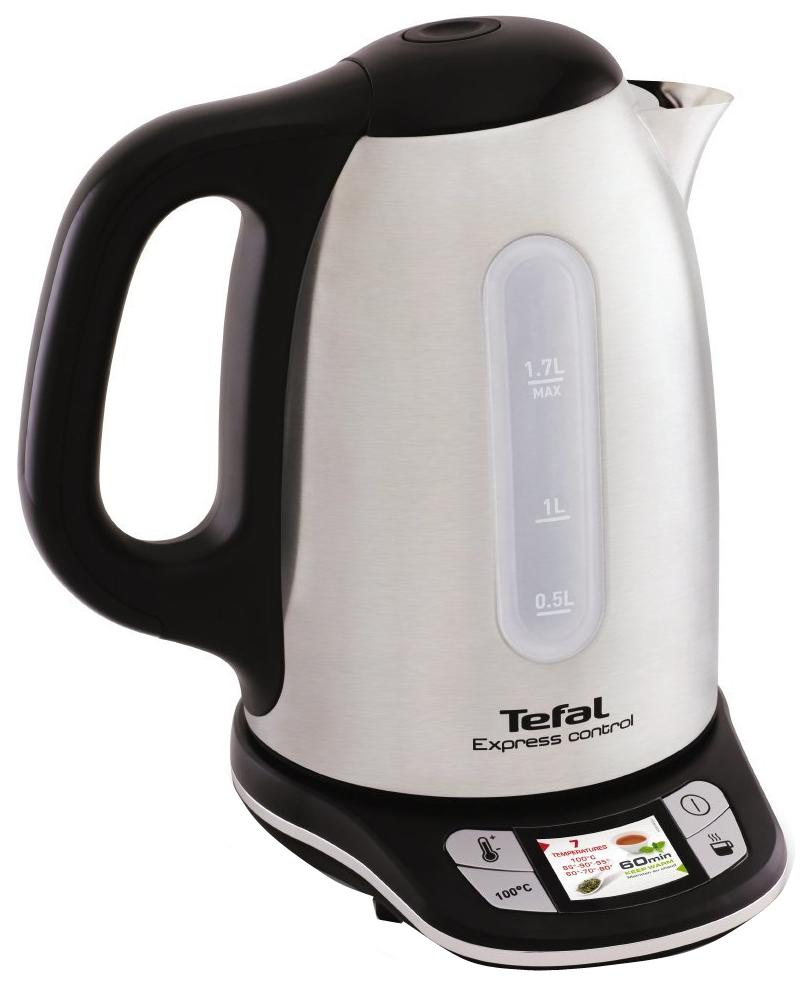 Чайник электрический Tefal KI240D30 Silver/Black