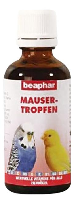 Витаминный комплекс для птиц Beaphar Mauser Tropfen,в