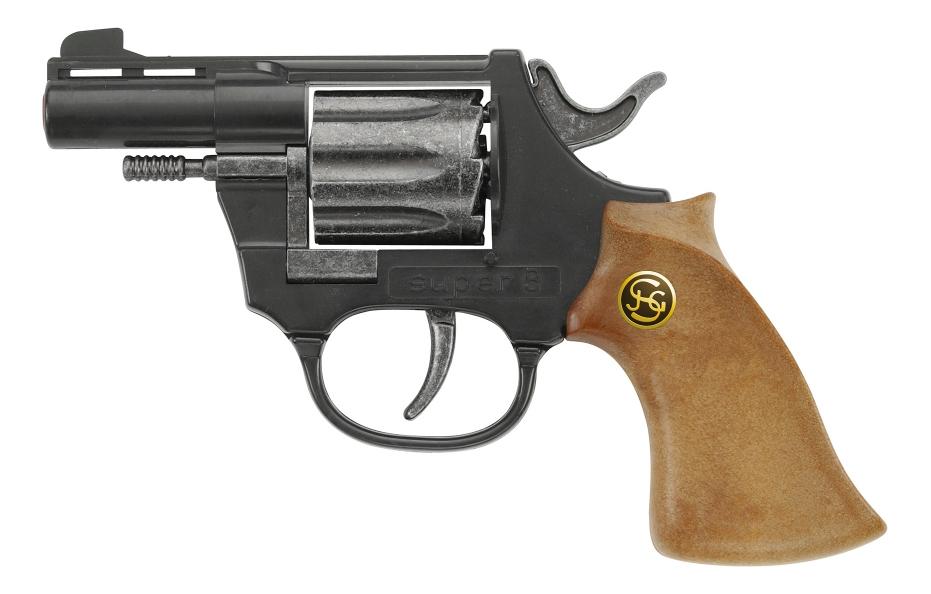 Пистолет игрушечный Schrodel Супер 8 (1020108)