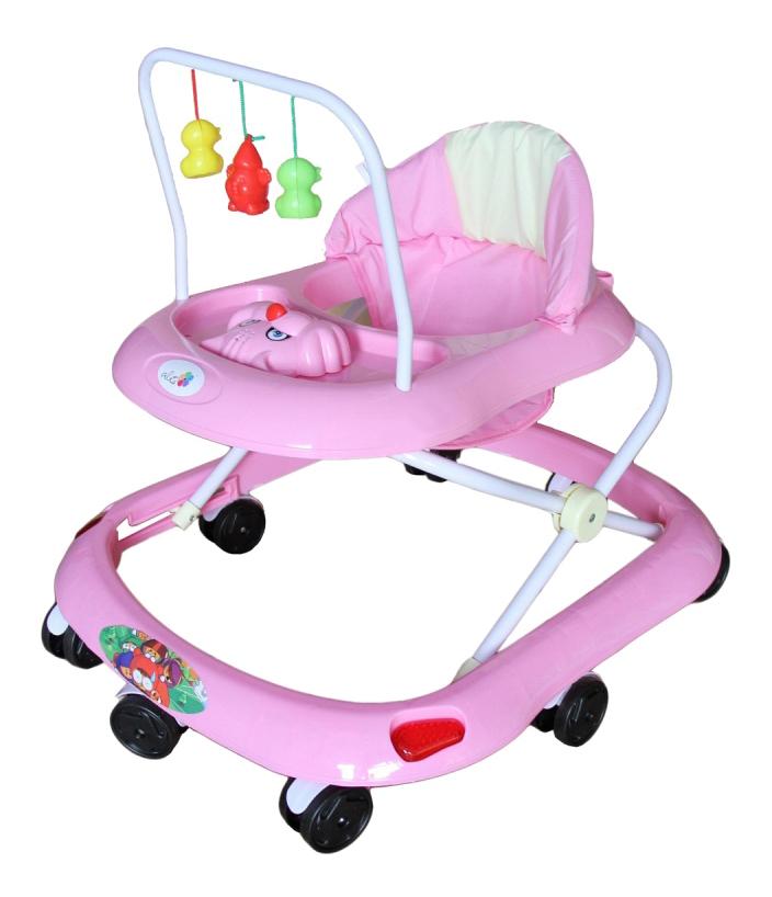 Ходунки детские Alis Маленький водитель розовый