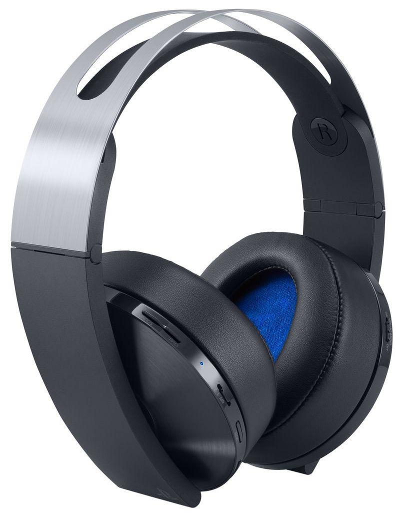 Беспроводные наушники Sony PlayStation 4 Platinum Wireless Headset Серый/Черный