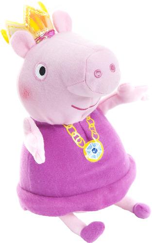 Купить Мягкая игрушка Peppa Pig Пеппа-принцесса, 20 см (31151), Мягкие игрушки персонажи