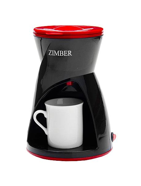 Кофеварка капельного типа Zimber ZM-11170 Red/Black