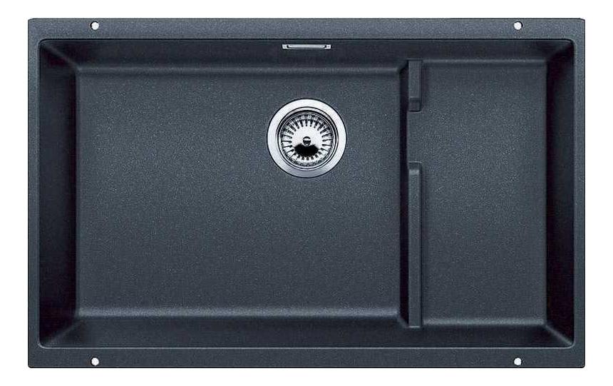 Мойка для кухни гранитная Blanco SUBLINE 700-U Level 518390 антрацит фото