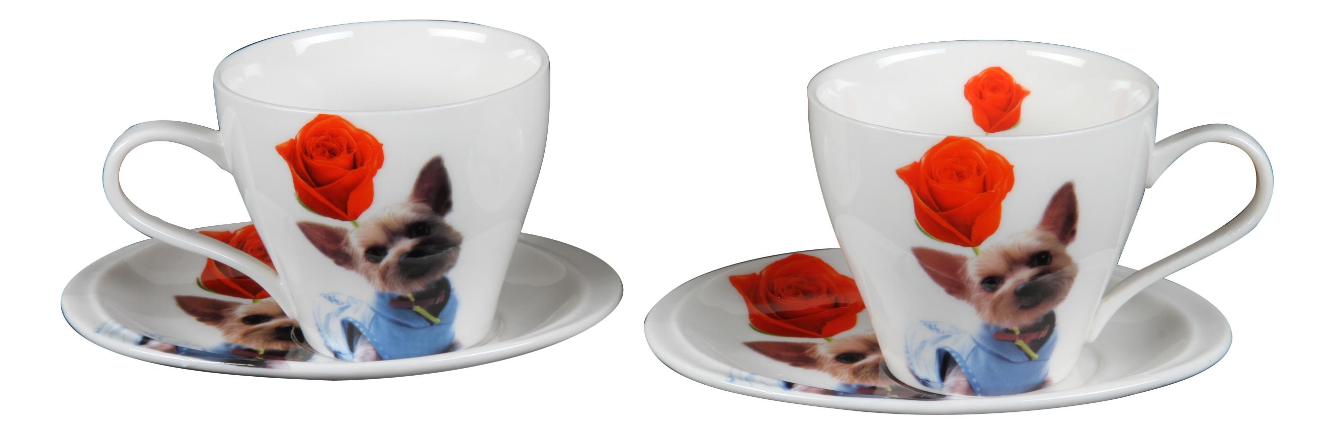 Чайный сервиз Rosenberg Чайный сервиз 8662, 4 предмета, 120 мл 4 пр. фото