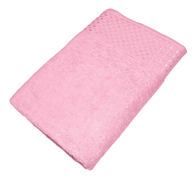 Банное полотенце Aisha розовый