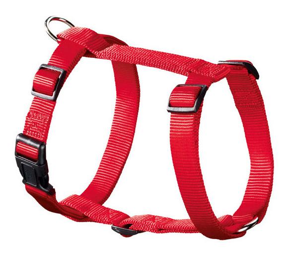 Шлейка для собак Hunter Smart Ecco Sport S (30-45/33-54 см) нейлон красная