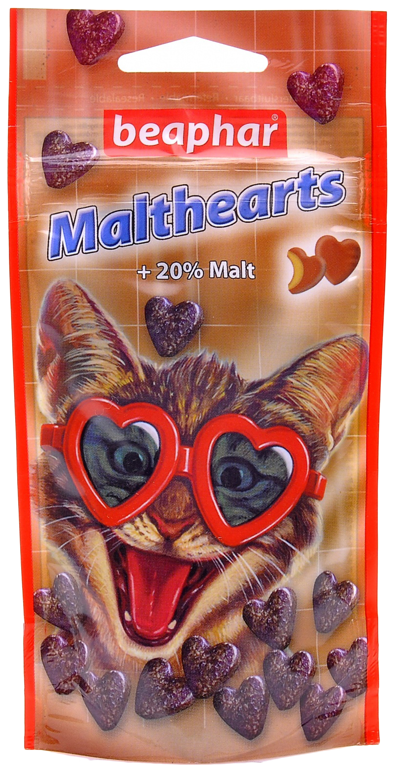 Сердечки для выведения шерсти для кошек Beaphar