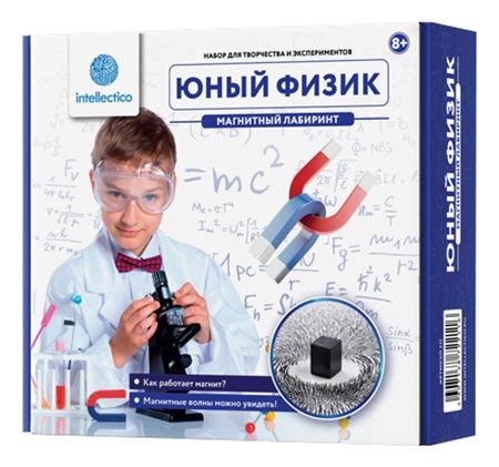 Набор для исследования Intellectico Юный Физик Магнитный лабиринт