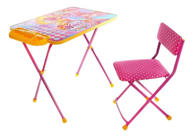 Комплект детской мебели Ника Winx. Азбука