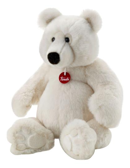 Мягкая игрушка Trudi Полярный Медведь Пласидо, 50 см