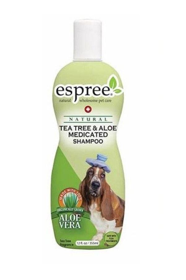 Шампунь для собак Espree Advanced Care Tea Tree  Aloe алоэ вера и чайное дерево 355 мл.