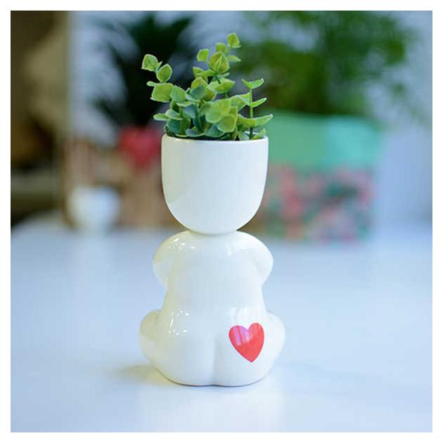 Горшок цветочный Экочеловеки 1004h 0.1 л