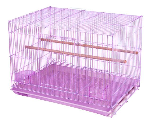 Клетка для птиц Triol 59,5x41x40,5 фиолетовый
