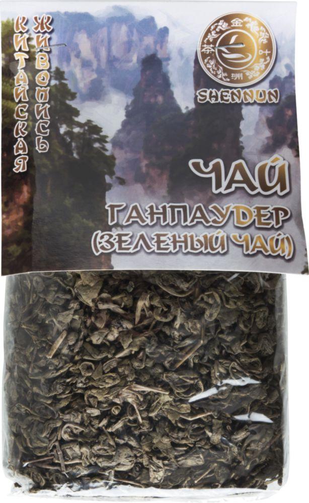 Чай зеленый Shennun ганпаудер 200 г фото