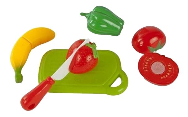 Купить Набор для резки Mary Poppins овощи и фрукты 4 шт. 453044, Игрушечные продукты