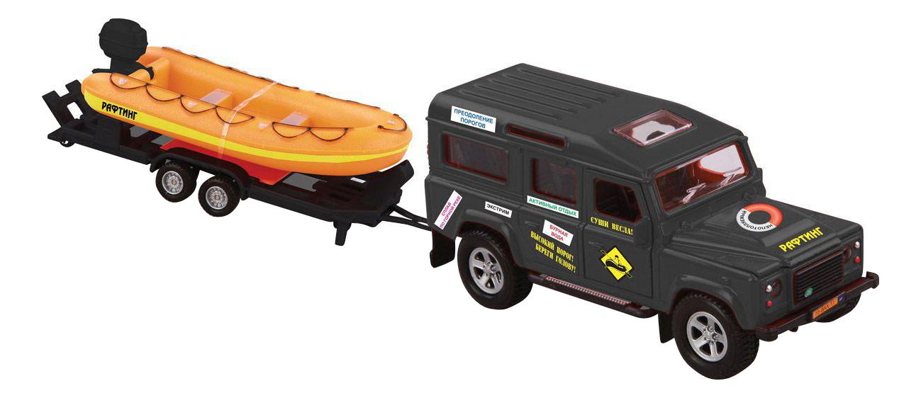 Купить Внедорожник Пламенный мотор Land Rover рафтинг 1:34, Игрушечные машинки