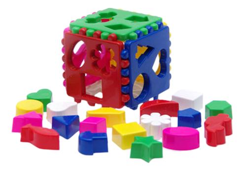 Сортер Karolina Toys Кубик логический большой