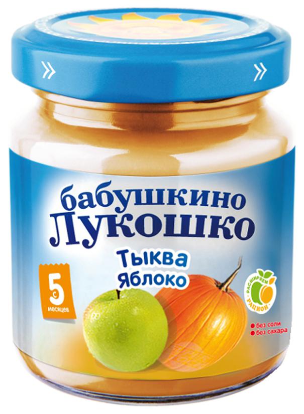 Пюре овощное Бабушкино Лукошко Тыква яблоко