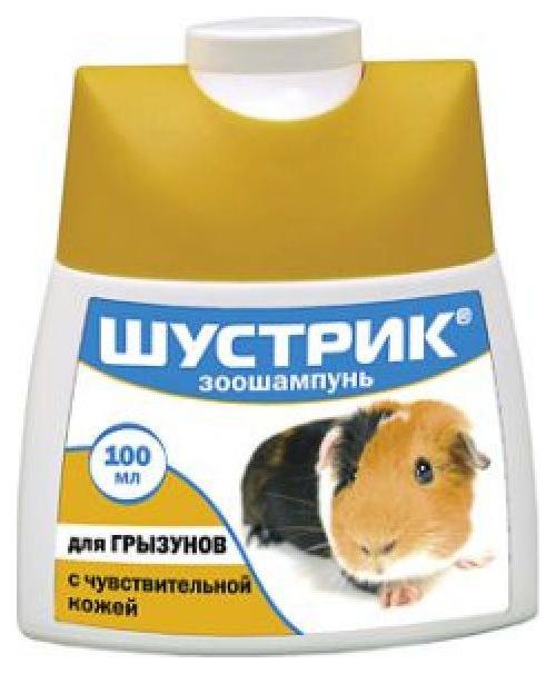 Шампунь для грызунов Шустрик Чувствительная кожа 100 мл (1х50) 5159