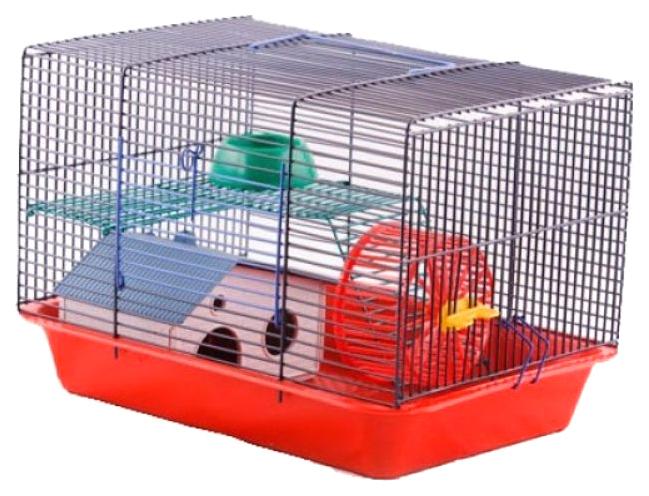 Клетка для джунгарских хомяков, мышей Зооник комплект,