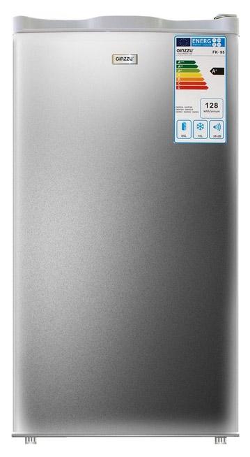Холодильник Ginzzu FK 97 Silver
