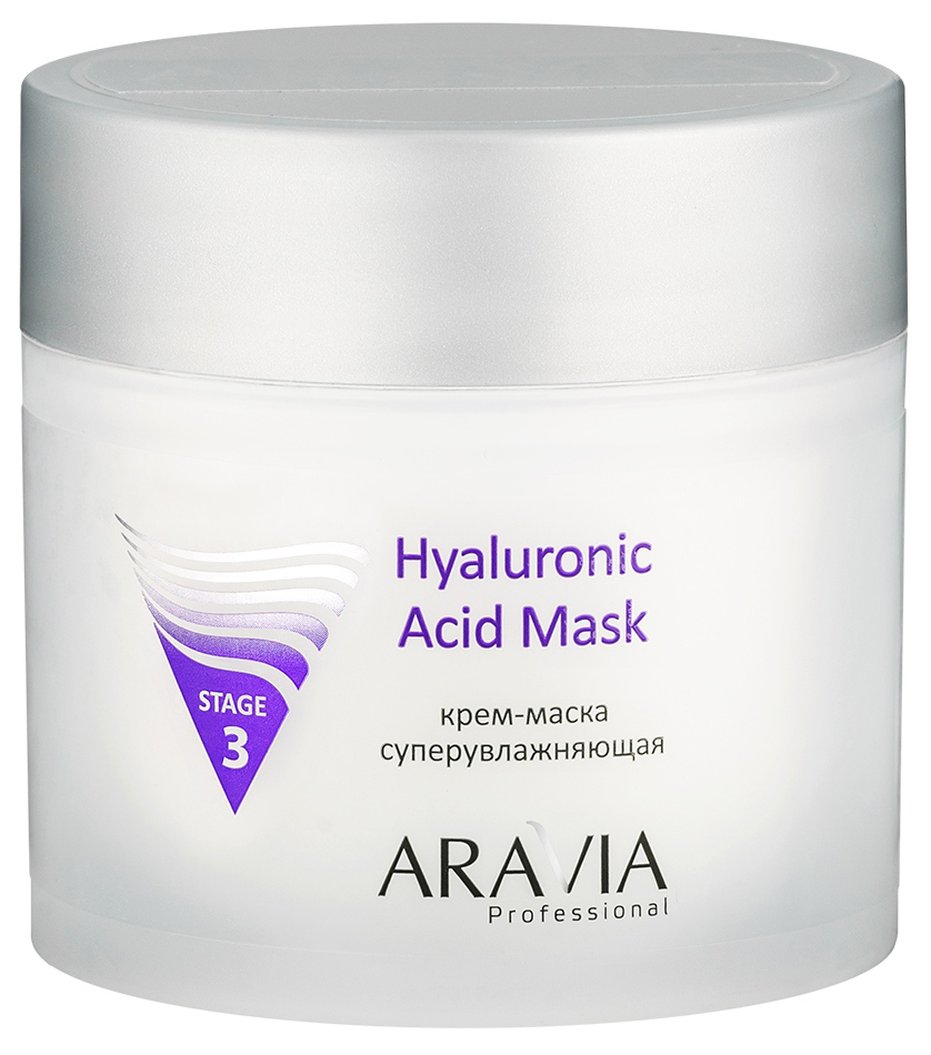 Купить Маска для лица Aravia Hyaluronic Acid Mask 300 мл, Aravia Professional