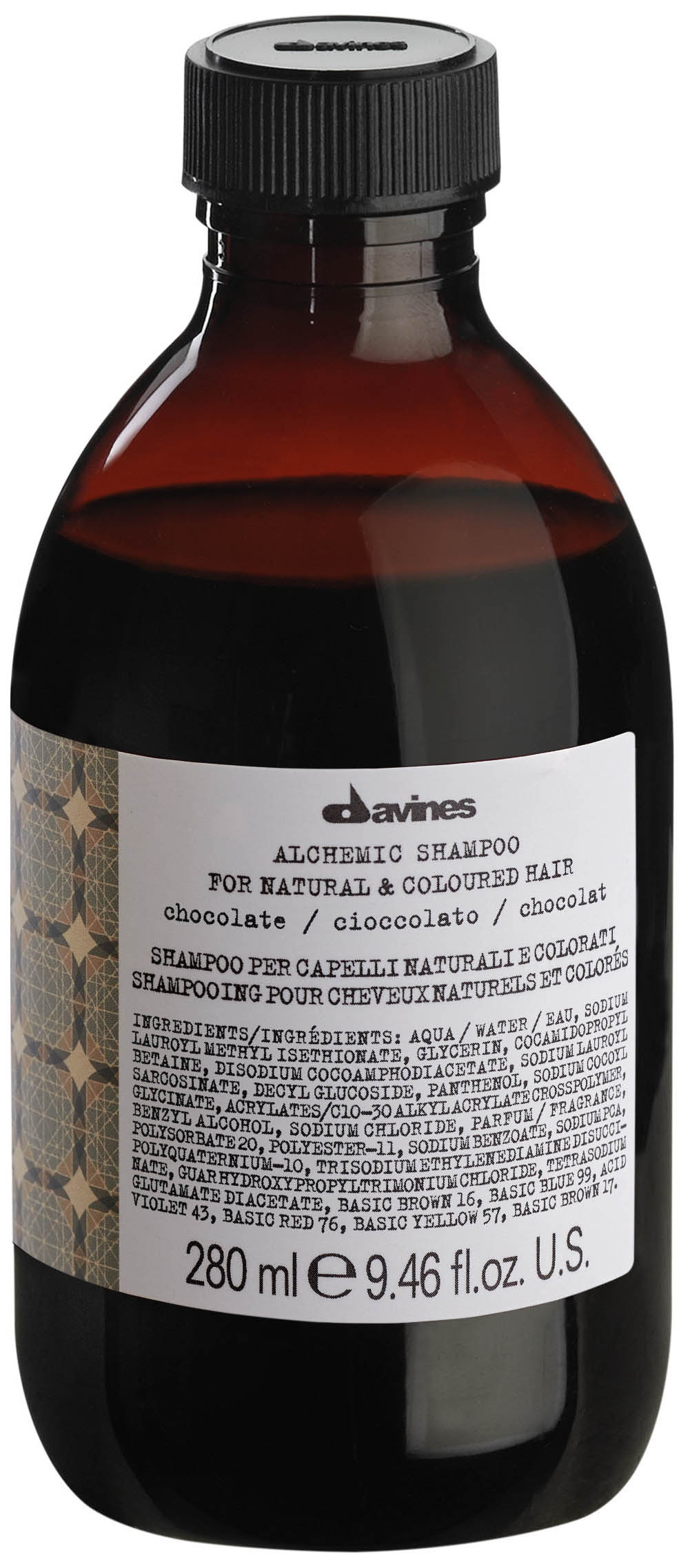DAVINES SHAMPOO FOR NATURAL AND COLOURED HAIR CHOCOLATE