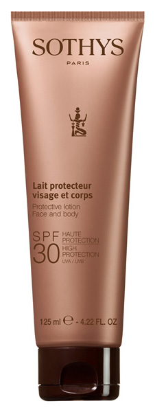 SOTHYS PROTECTIVE LOTION FACE AND BODY SPF30 HIGH PROTECTION