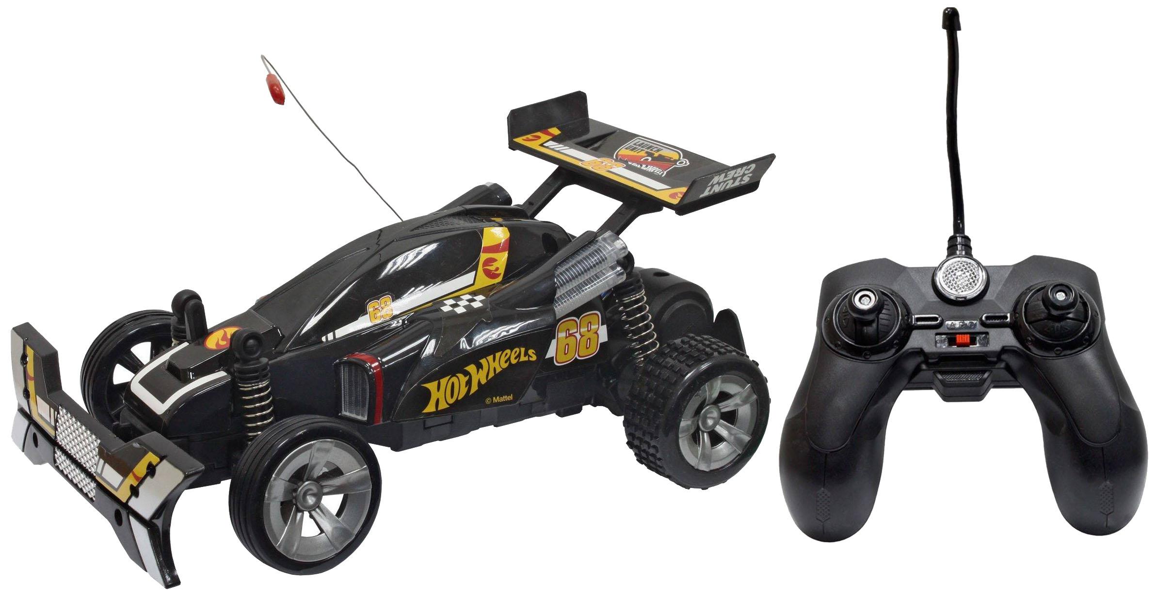 Купить Радиоуправляемая машинка 1 TOY Hot Wheels Багги 1:20 cо светом и звуком чёрная, Радиоуправляемые машинки