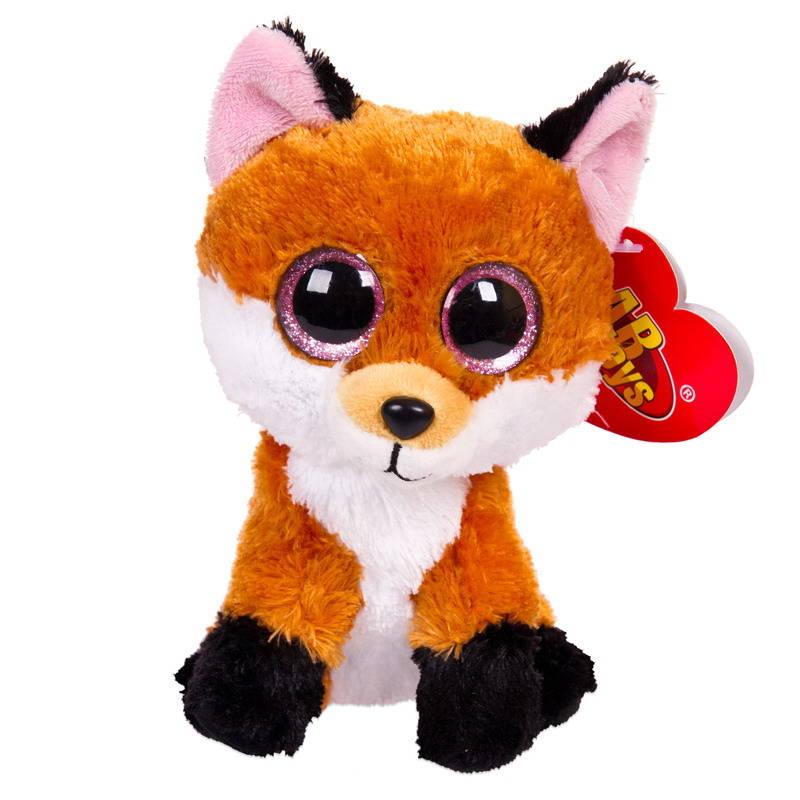 Купить Мягкая игрушка ABtoys Лисичка рыжая, 15 см, Мягкие игрушки животные