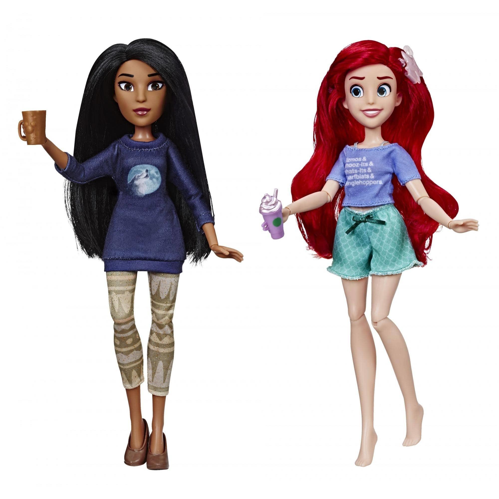 Куклы Disney Princess Ариель и Покахонтас - Ральф против интернета E7413,  - купить со скидкой
