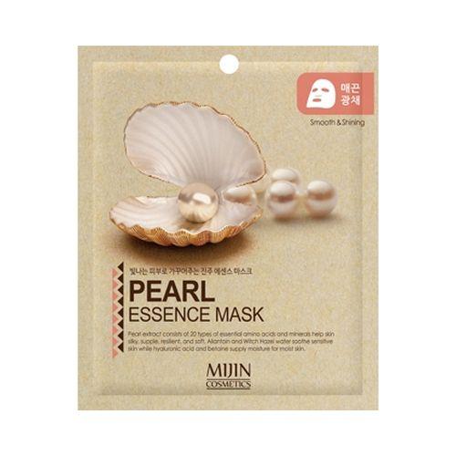 Маска для лица тканевая жемчуг PEARL ESSENCE MASK 25гр
