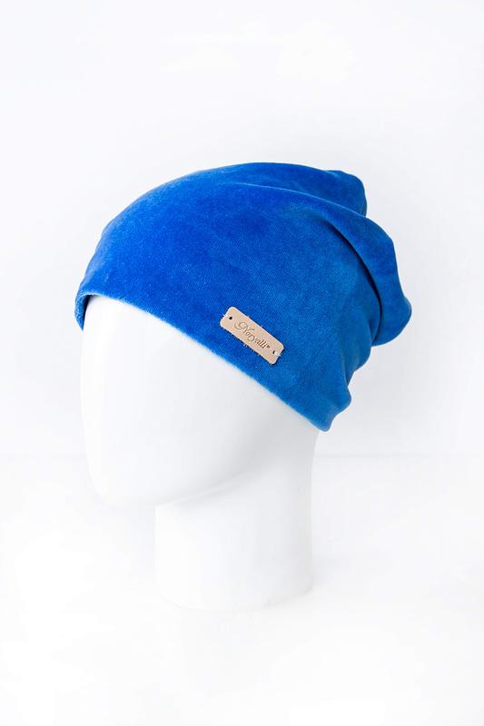 Шапка женская Noryalli 97401 голубая ONE SIZE