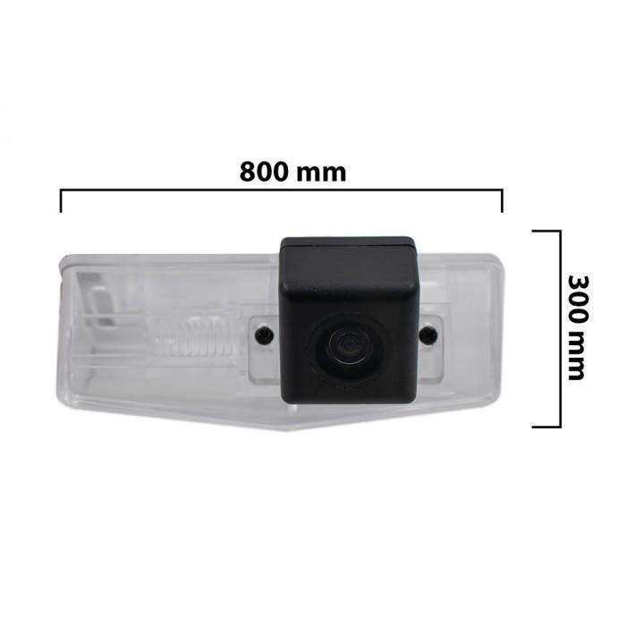 Камера заднего вида BlackMix для Toyota Highlander с основой из прозрачного пластика