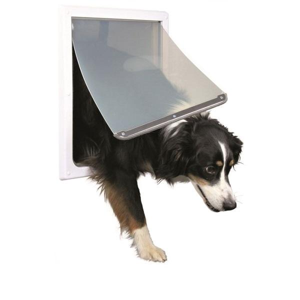 Дверца для собак TRIXIE, белая, M