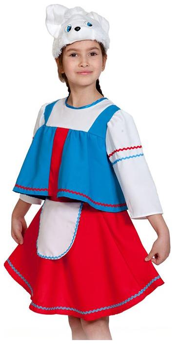 Карнавальный костюм Карнавалофф Заяц, цв. красный; синий;