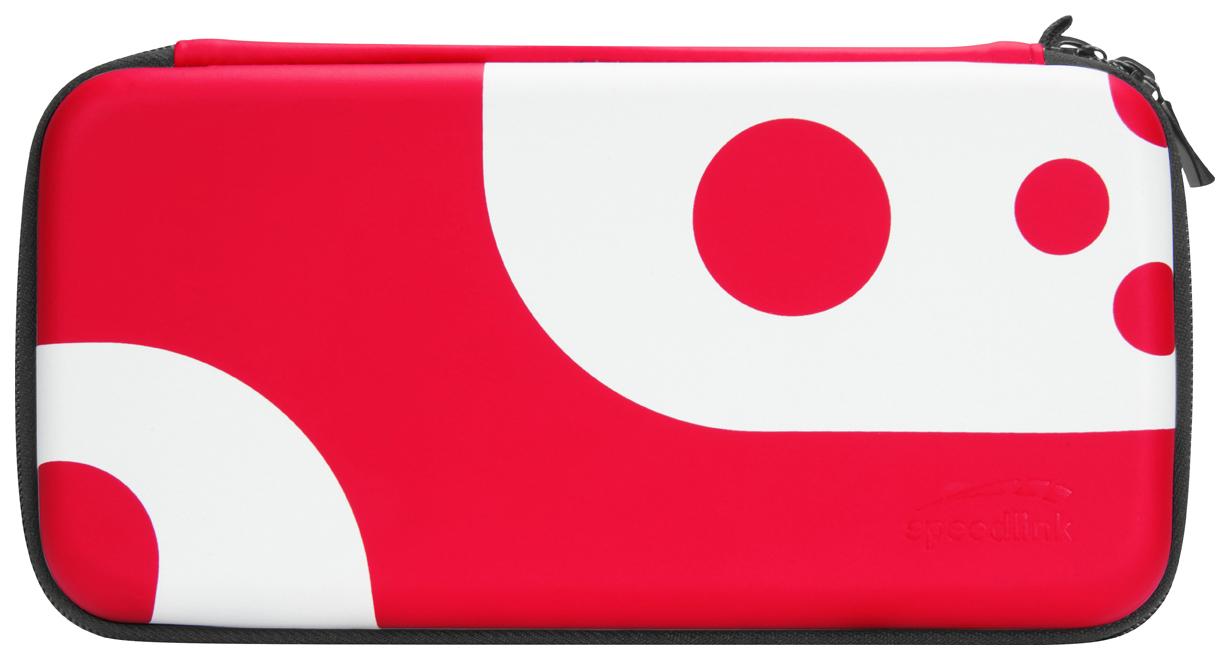 Набор аксессуаров Speedlink Caddy #and# Stix для NS (чехол и накладки на стики)Bl/Red