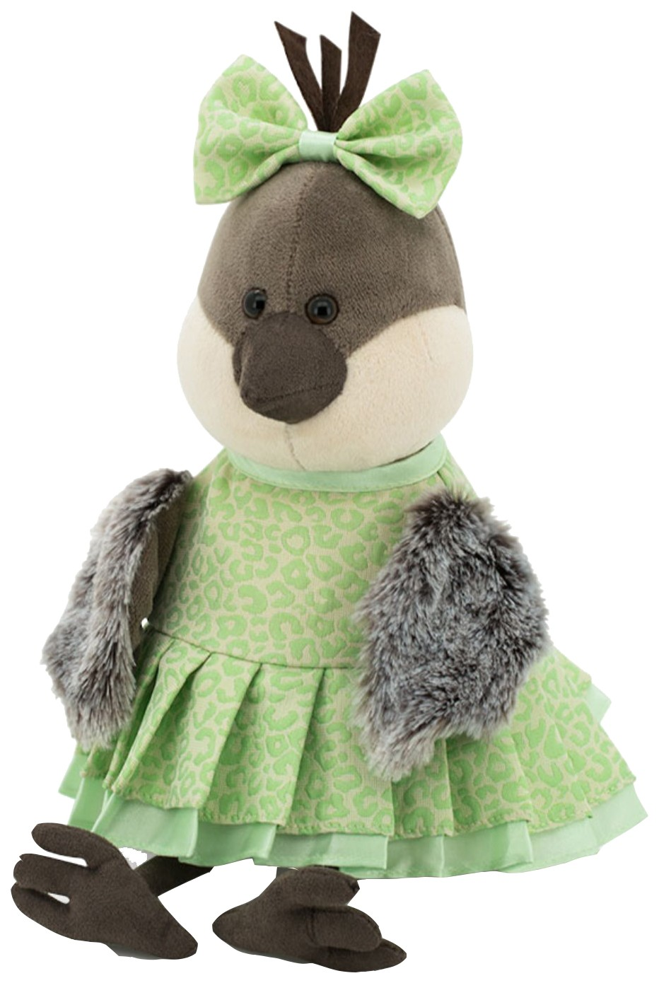 Купить Мягкая игрушка «Воробьишка Грэйс: Авокадо», 20 см Orange, Orange Toys, Мягкие игрушки птицы