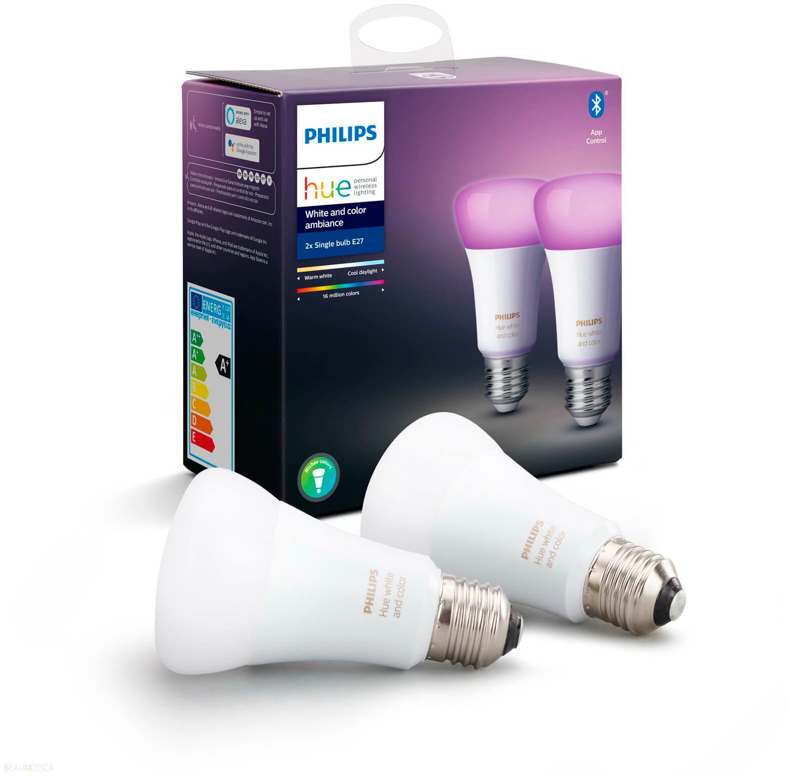 Светодиодные лампы Philips Hue White and Color