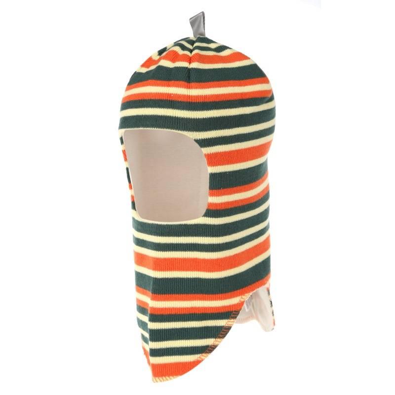 Шапка-шлем Snappy Vilukissa, цв. зеленый, 50 р-р