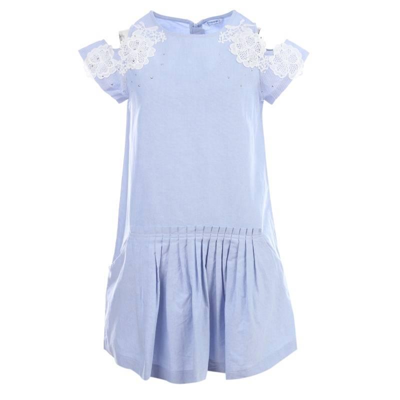 Купить Платье MAYORAL, цв. темно-синий, 140 р-р, Детские платья и сарафаны