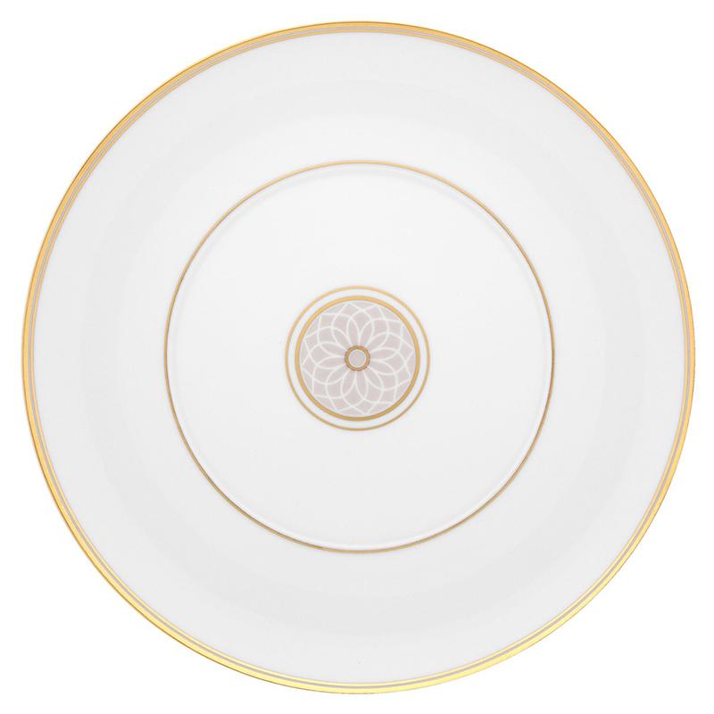 Тарелка десертная 23,1см Vista Alegre TERRACE, цвет белый, золотой