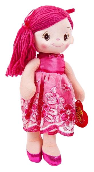 Купить Кукла мягконабиваная, балерина, 30 см, цвет розовый, ABtoys, Классические куклы